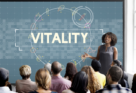 Seminar with vitality concept