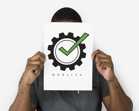 Best Quality Guarantee Assurance Concept Stock Photo