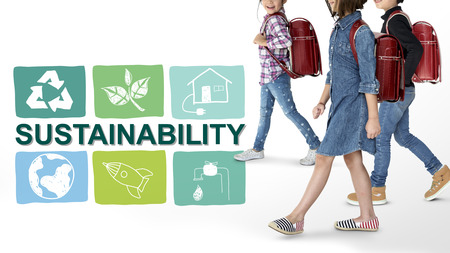 Sustainability Ecology Save Environment Concept Stock fotó - 82026193