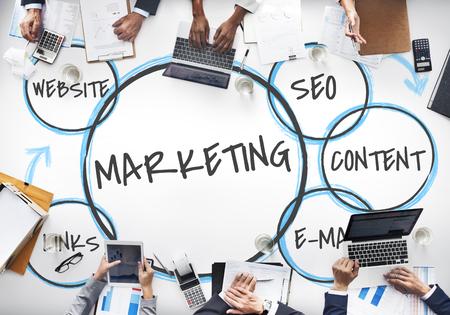 Digital Marketing Branding Loyalty Graphics Stockfoto - 82022338