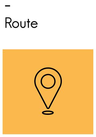 Map indicator icon