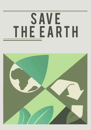 지구를 구하는 것은 우리의 책임입니다. 스톡 콘텐츠