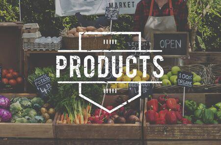 Healthy food organic fresh farmer products Stok Fotoğraf - 82033339