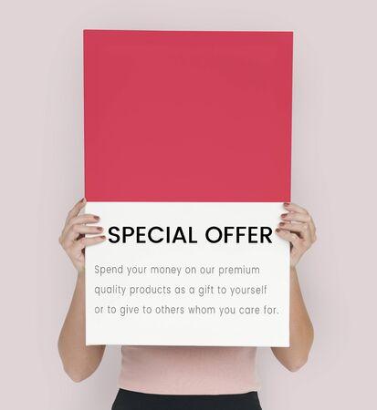 Mejor precio concepto de venta premium Foto de archivo - 82034145