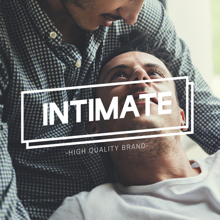 captivated: LGBT Enamored Amorous Love Intimate Stock Photo