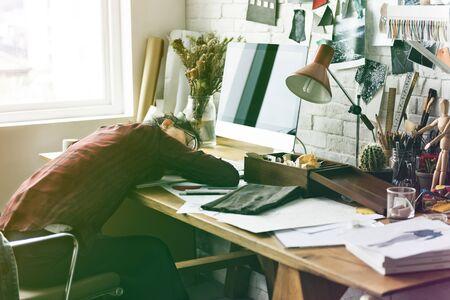 Kleurverloopeffect foto Modeontwerper job Stockfoto - 82090832
