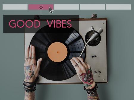 plater: Good Vibes Together Enjoy Concept