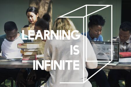 Learning is Infinite Education Knowledge Word Phrase