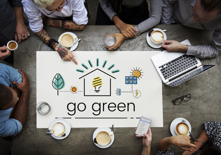 Environment Sustainability Eco Friendly Concept Imagens - 82091578