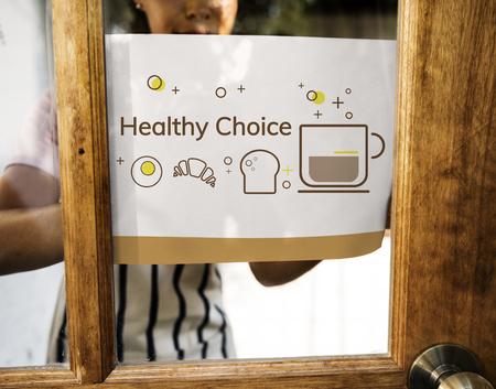 Balance Diet Healthy Nutrition Concept