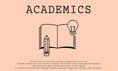 Knowledge Literacy Icon Idea Bulb Sign 版權商用圖片