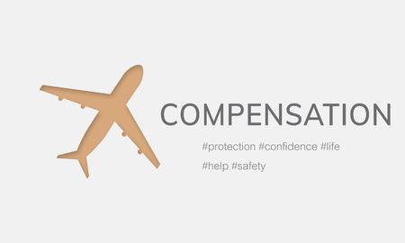 항공 생명 보험 여행 여행의 그림