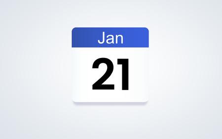 Calendar planner concept Banco de Imagens