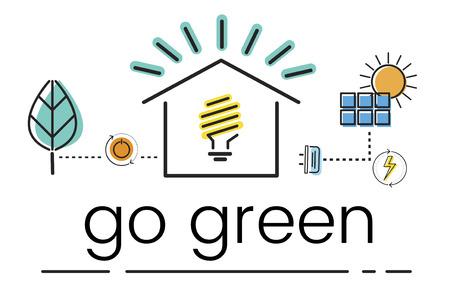 環境持続可能性環境コンセプト 写真素材