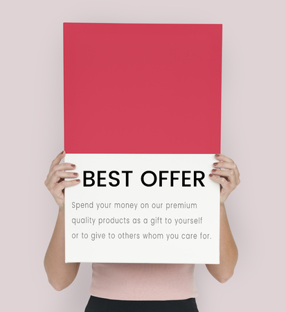 Best Price Premium Sale Concept Stock Photo