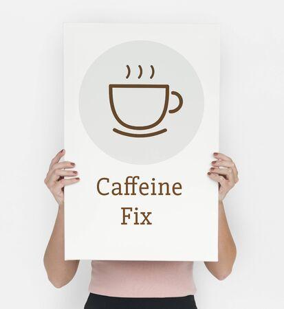 Break Time Sip Coffee Concept
