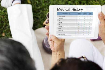 Medical Examination Report History History Reklamní fotografie
