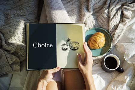 Challange Descision Option Chance Choice Concept Stock Photo
