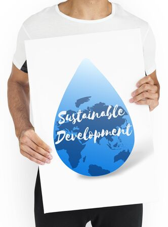 Global Water Sustainable Development March 22 版權商用圖片