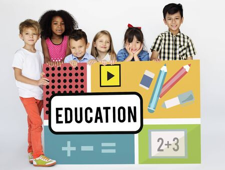 Math Formula Calculation Education Graphic Stock Photo