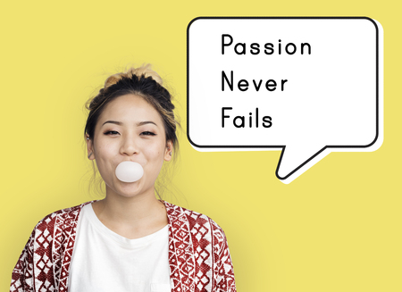 Passion Never Fails Positive Inspire Mindset