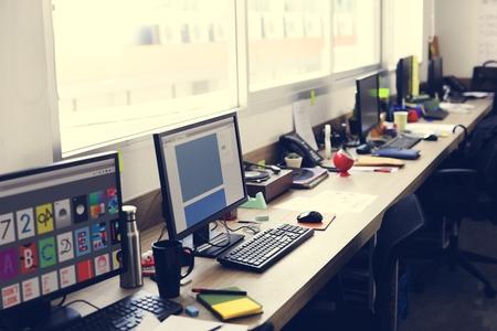 工事事務所の創造的なデザイナー 写真素材