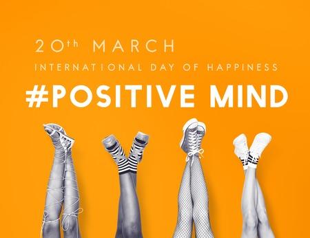 Bonne journée internationale du concept de bonheur Banque d'images - 82330870