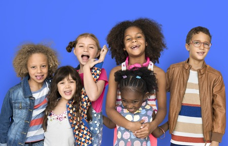 Group of children Stock Photo - 113825617