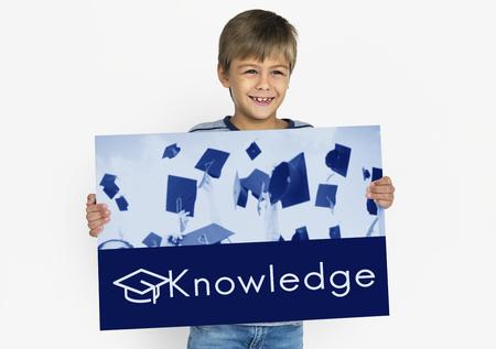 Academy Certification Curriculum School Icon Stockfoto