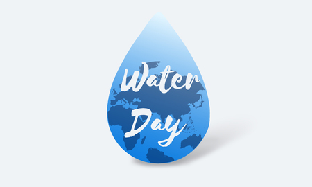 3 月 22 日世界の水の持続可能な開発