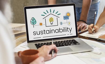 Umwelt Nachhaltigkeit Eco Friendly Concept Standard-Bild - 82340904