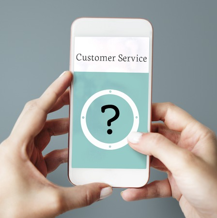 Help Customer Support Service Concept