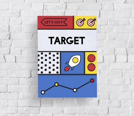 Stratégie de stratégie de marketing de la finance mot icône Banque d'images - 82417172