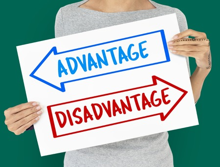 Arrows Opposite Choice Advantage Disavantage Icon