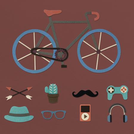 Bike Logo Modern Sign Trademark Copyright Stock Photo