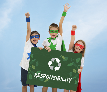 Relax Growth Reuse Responsibility Icon Stock Photo
