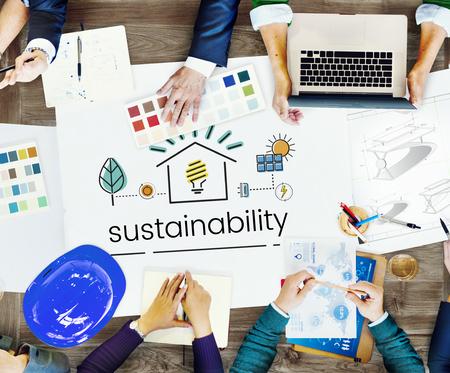 Medio Ambiente Sostenibilidad Eco Friendly Concept Foto de archivo - 82422204