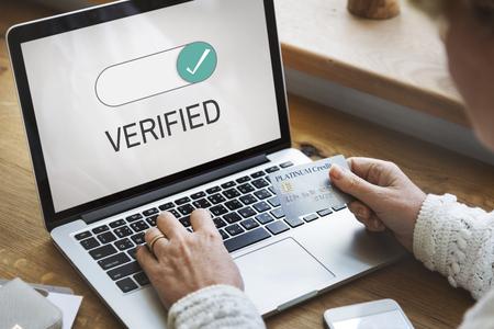Verified Allowance Approval Permit Authority Banco de Imagens - 82269294