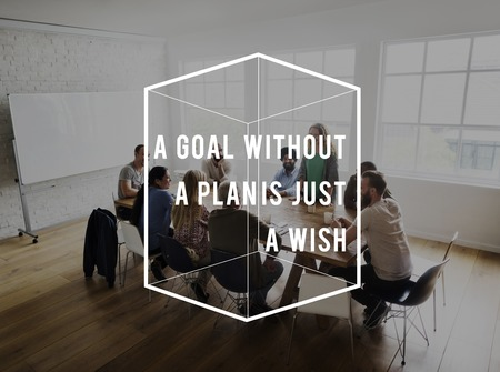 Goal Without Plan is Just a Wish Life Motivation Quote