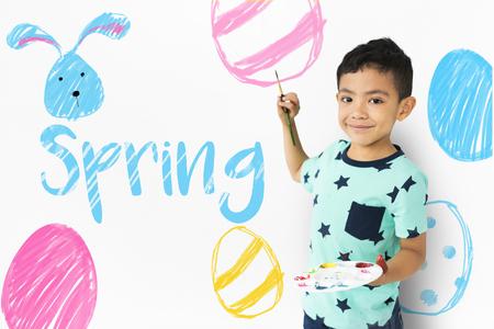 Easter Break Holiday Season Celebration Stock fotó - 82366984
