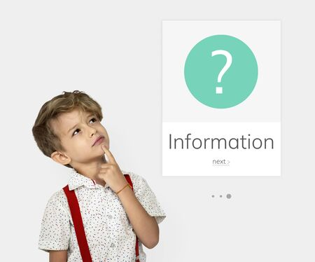 FAQ Customer Service Help Support Exclamation Graphic Stok Fotoğraf