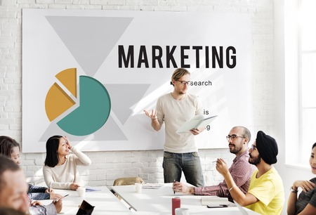Marketing Research Ideas Analysis Concept