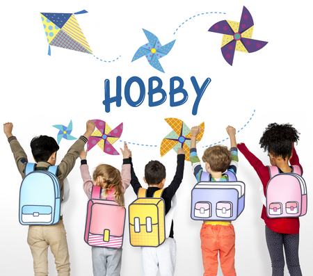 Childhood Leisure Hobby Imagination Concept Stock fotó