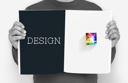 Art Design Creative Colorful Graphic Stok Fotoğraf