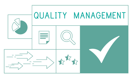 Illustration de la qualité de garantie de qualité de l & # Banque d'images - 82273587