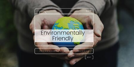 Save The World Nature Environment Sustainability Graphic Stock Photo