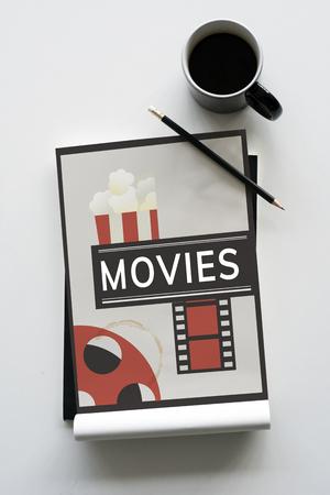 Movie Time REcreation Fun Concept