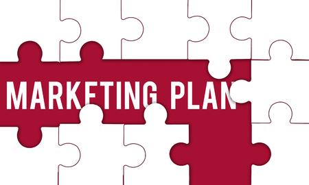 Marketing Plan word hidden in puzzle maze
