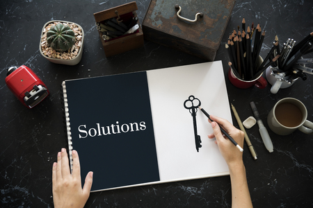 Significant Change Solutions Answers Solve Concept 版權商用圖片
