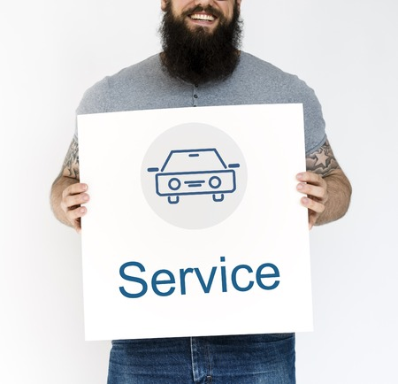 Car Service Icon sign Symbol